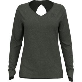 Odlo Halden Linencool T-Shirt L / S Crew Neck Damer, oliven